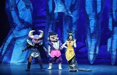 上海美术电影制品厂授权儿童舞台剧《葫芦兄弟》春节场
